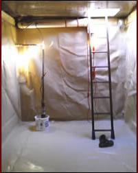Cistern Liner Install