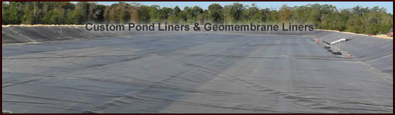 pond geomembrane liners